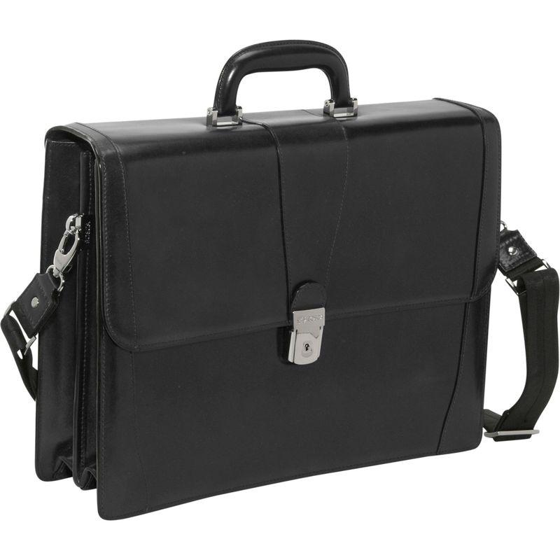 ボスカ メンズ スーツケース バッグ Old Leather Double Gusset Brief Black