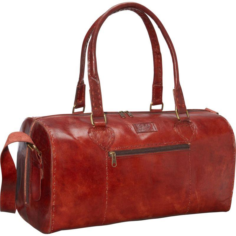 シャロレザーバッグス メンズ スーツケース バッグ Red Round Duffle Bag Red