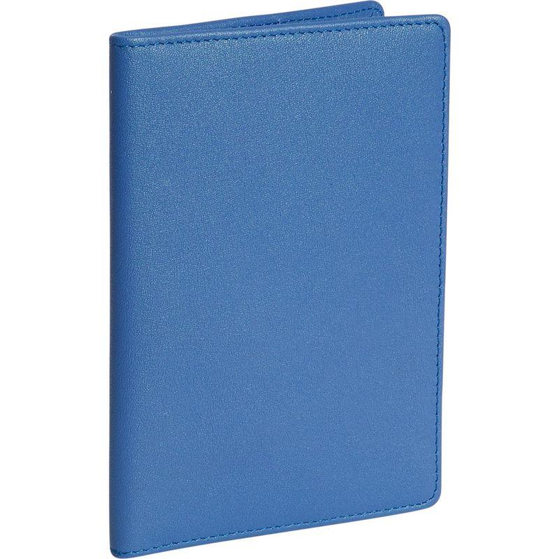 ロイスレザー メンズ 財布 アクセサリー Plain Passport Jacket Royce Blue