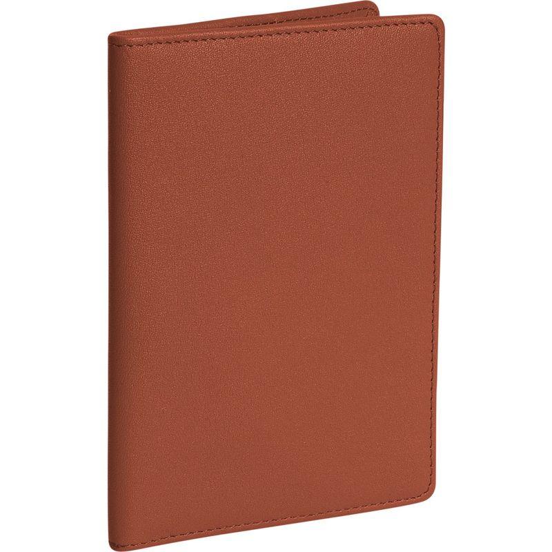 ロイスレザー メンズ 財布 アクセサリー Plain Passport Jacket Tan