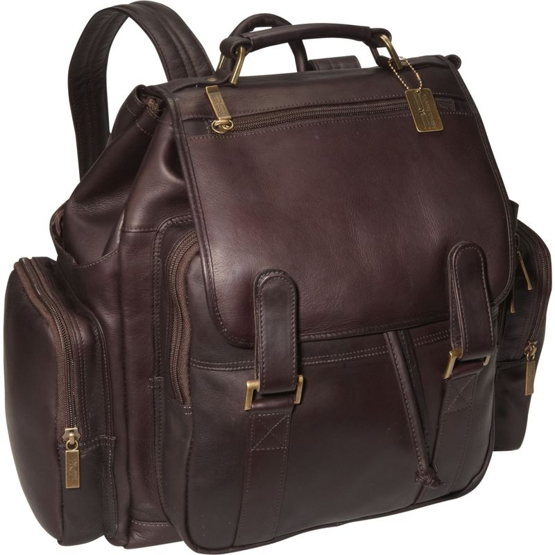 クレアーチャイス メンズ スーツケース バッグ Jumbo Laptop Bak-Pack Cafe