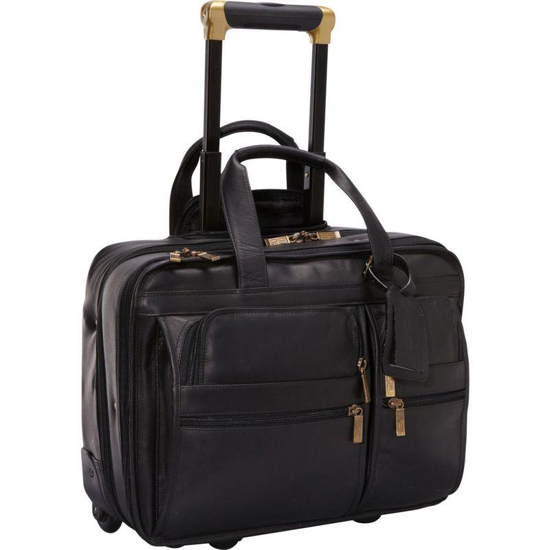 クレアーチャイス メンズ スーツケース バッグ Rolling Computer Brief Black