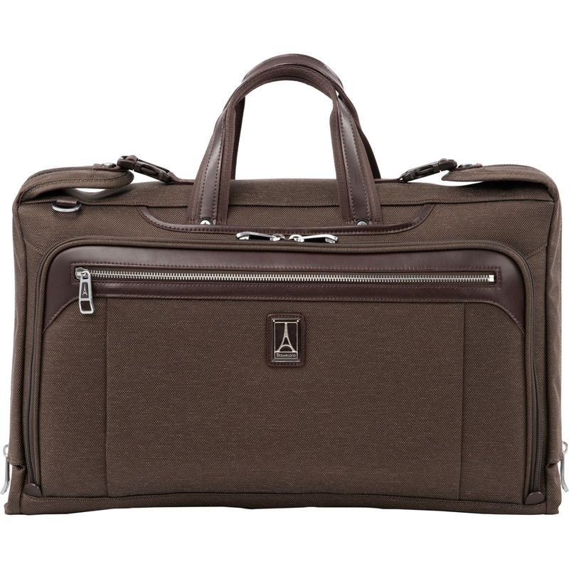 トラベルプロ メンズ スーツケース バッグ Platinum Elite Tri-Fold Carry-On Garment Bag Rich Espresso