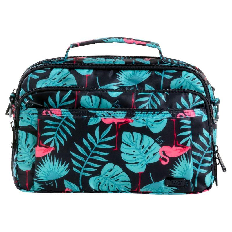 ラグ メンズ ボディバッグ・ウエストポーチ バッグ Scoop Crossbody Bag Flamingo Black