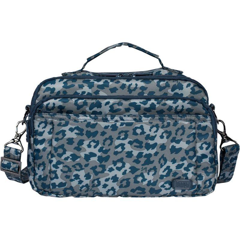 ラグ メンズ ボディバッグ・ウエストポーチ バッグ Scoop Crossbody Bag Leopard Navy