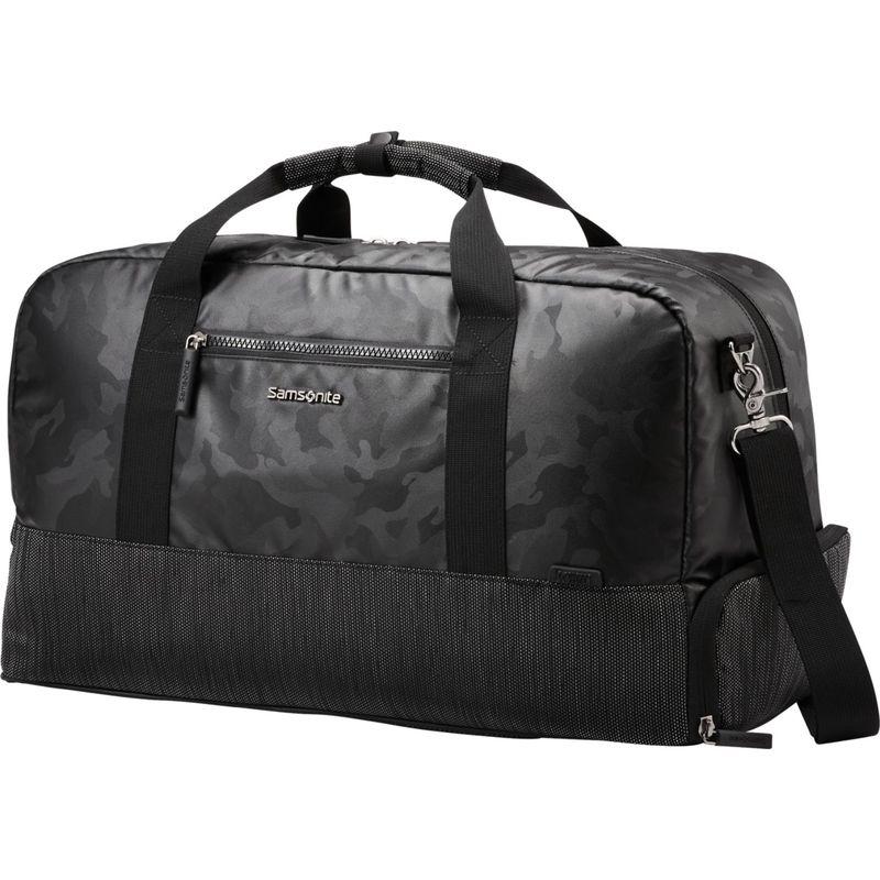 サムソナイト メンズ スーツケース バッグ Quadrion Duffel Black/Camo