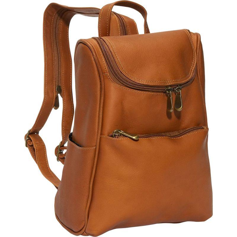 デビッドキング メンズ ハンドバッグ バッグ Women's Small Backpack Tan