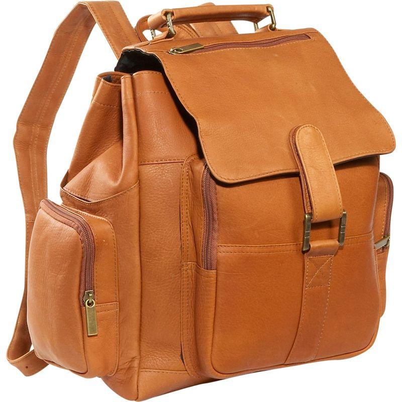 デビッドキング メンズ ハンドバッグ バッグ Top Handle X-Large Backpack Tan