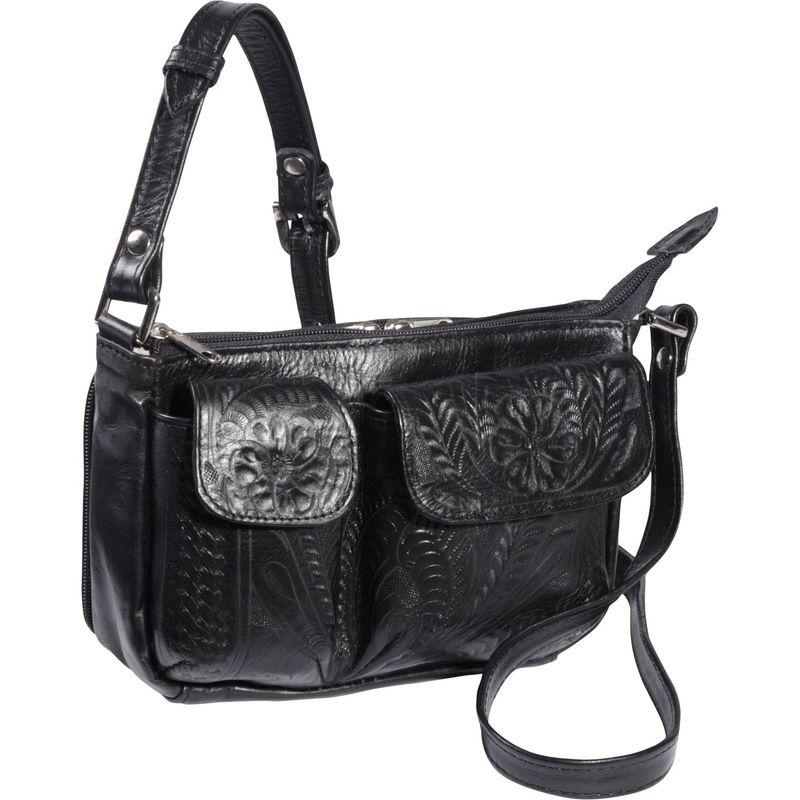 ロピンウェスト メンズ ボディバッグ・ウエストポーチ バッグ Shoulder Bag Black