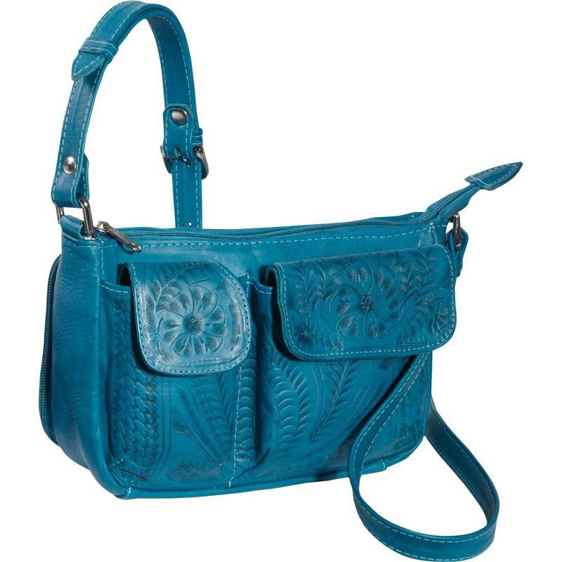 ロピンウェスト メンズ ボディバッグ・ウエストポーチ バッグ Shoulder Bag Turquoise