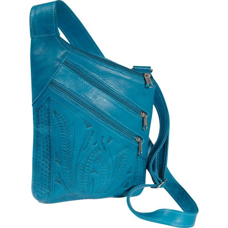 ロピンウェスト メンズ ボディバッグ・ウエストポーチ バッグ Cross Over Crossbody Bag Turquoise