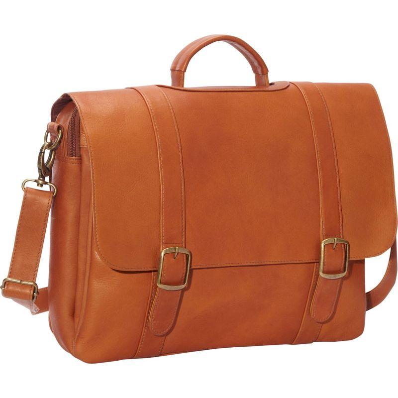 ルドネレザー メンズ スーツケース バッグ Classic Computer Brief Tan