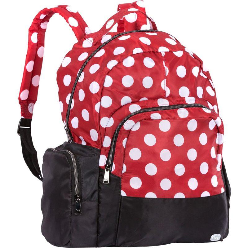ラグ メンズ バックパック・リュックサック バッグ Echo Packable Backpack Crimson Dot