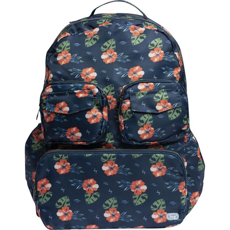 ラグ メンズ スーツケース バッグ Puddle Jumper Packable Backpack Aloha Navy