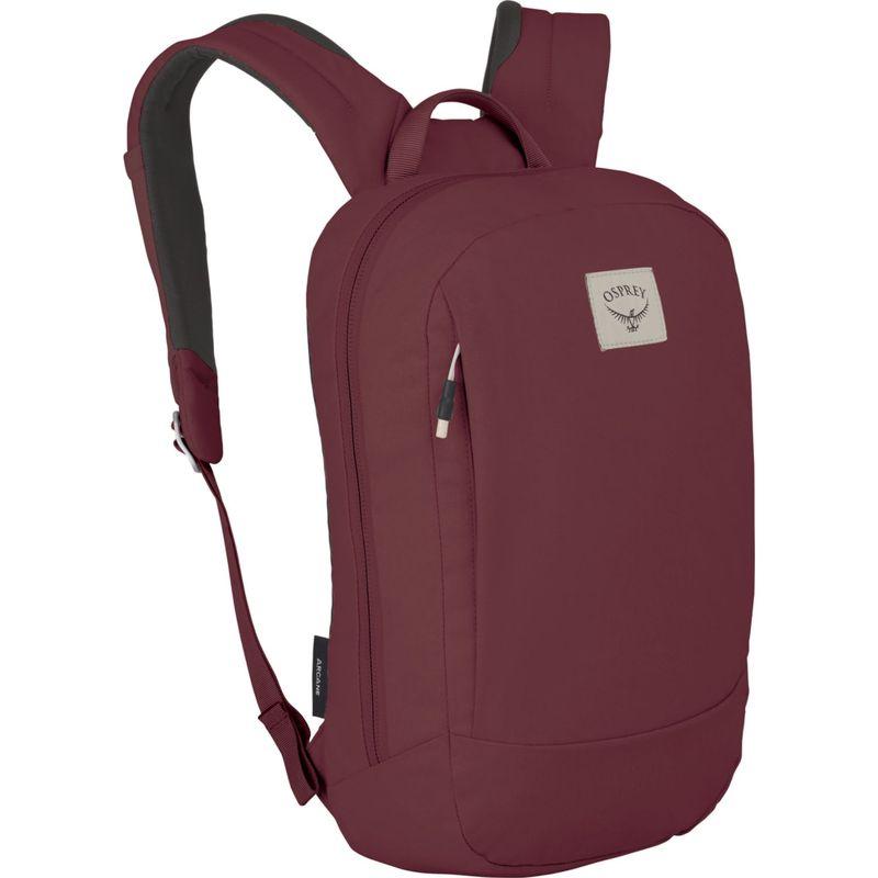 オスプレー メンズ スーツケース バッグ Arcane Small Day Pack Mud Red O/S