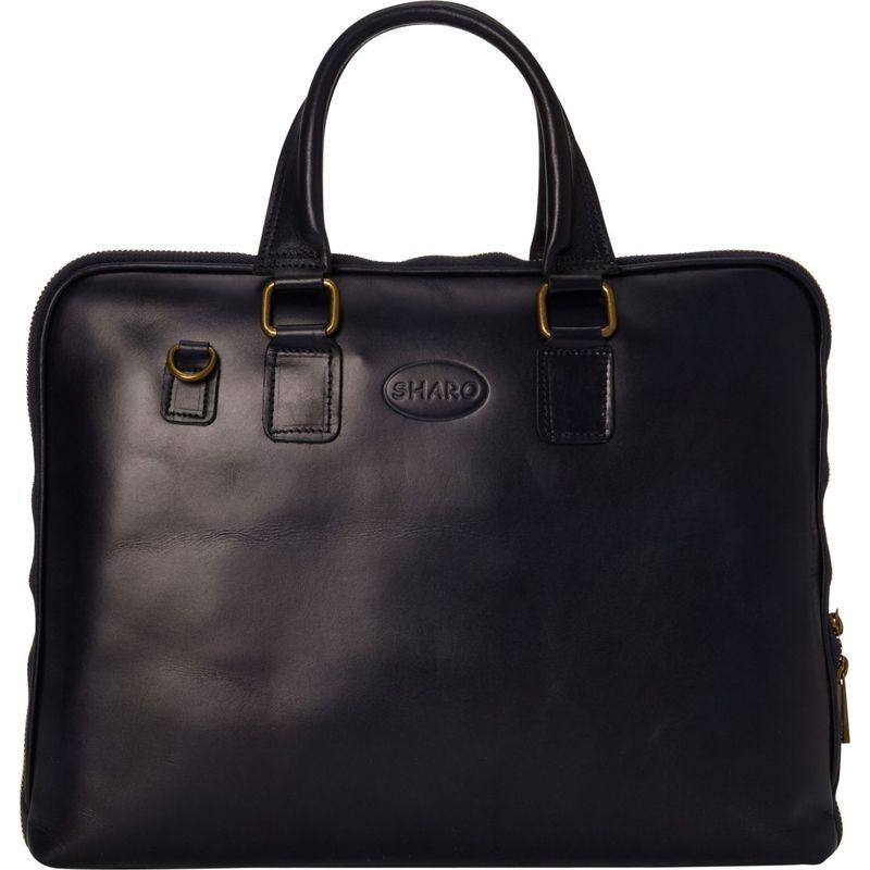 シャロレザーバッグス メンズ スーツケース バッグ Slim Line Professional Briefcase Blue