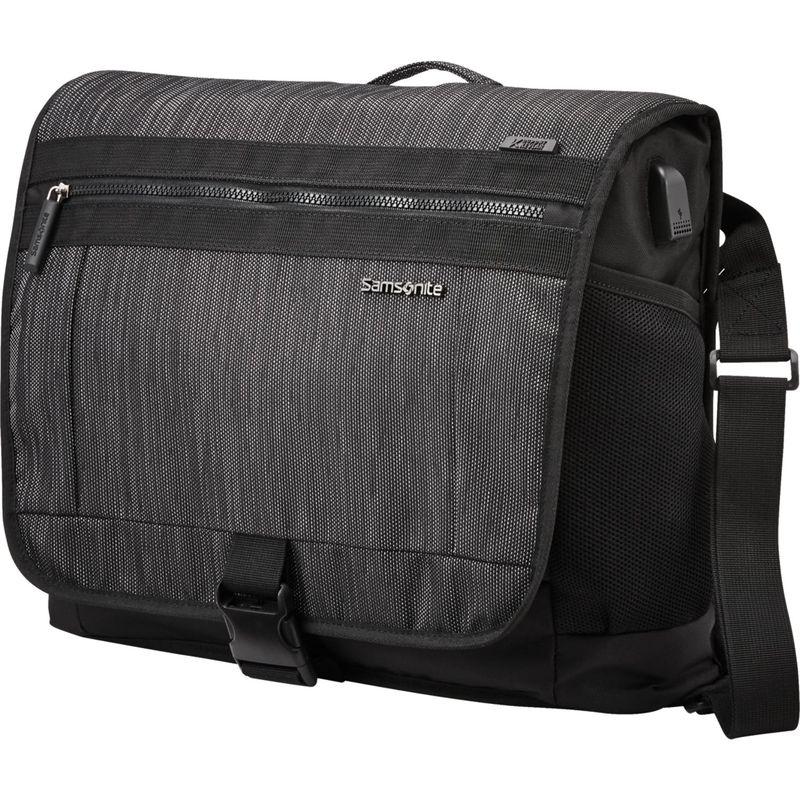 サムソナイト メンズ スーツケース バッグ Quadrion Messenger Bag Black