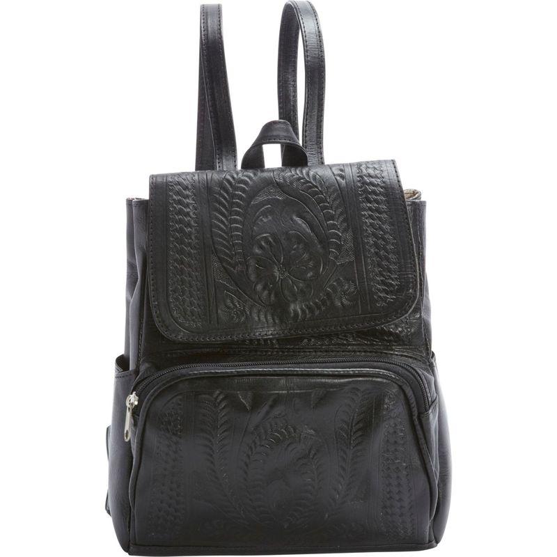 ロピンウェスト メンズ ハンドバッグ バッグ Backpack Purse Black