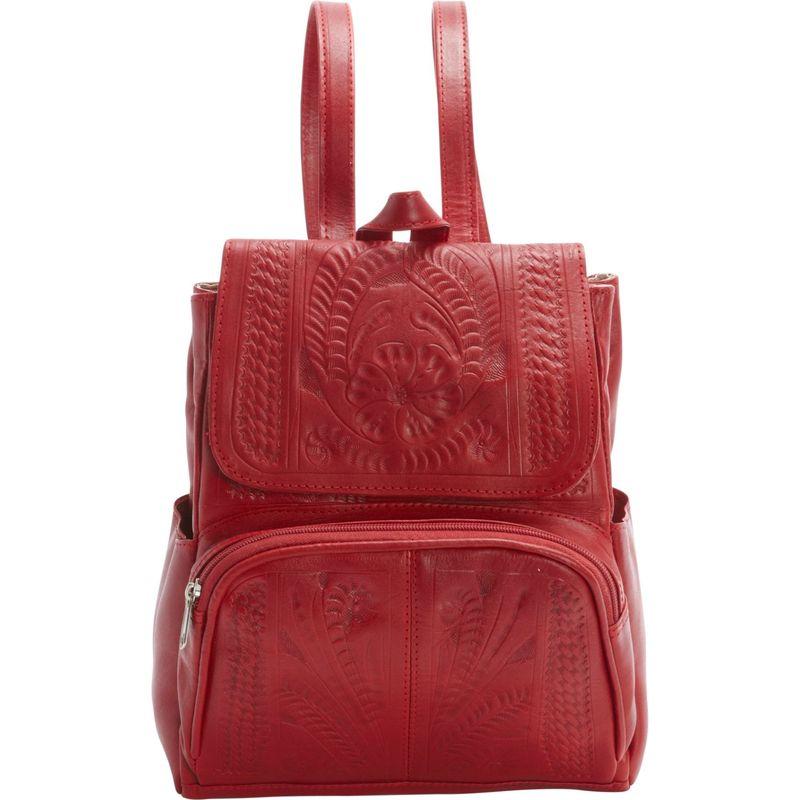 ロピンウェスト メンズ ハンドバッグ バッグ Backpack Purse Red