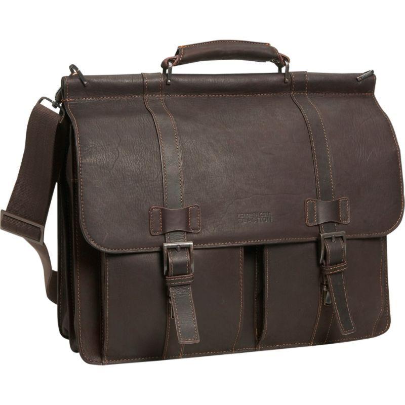 ケネスコール メンズ スーツケース バッグ Rod Mind Your Own Laptop Business Leather - Colombian Leather Dowel Rod Laptop Case Brown, ブリリアントレディ:cefd9532 --- municipalidaddeprimavera.cl