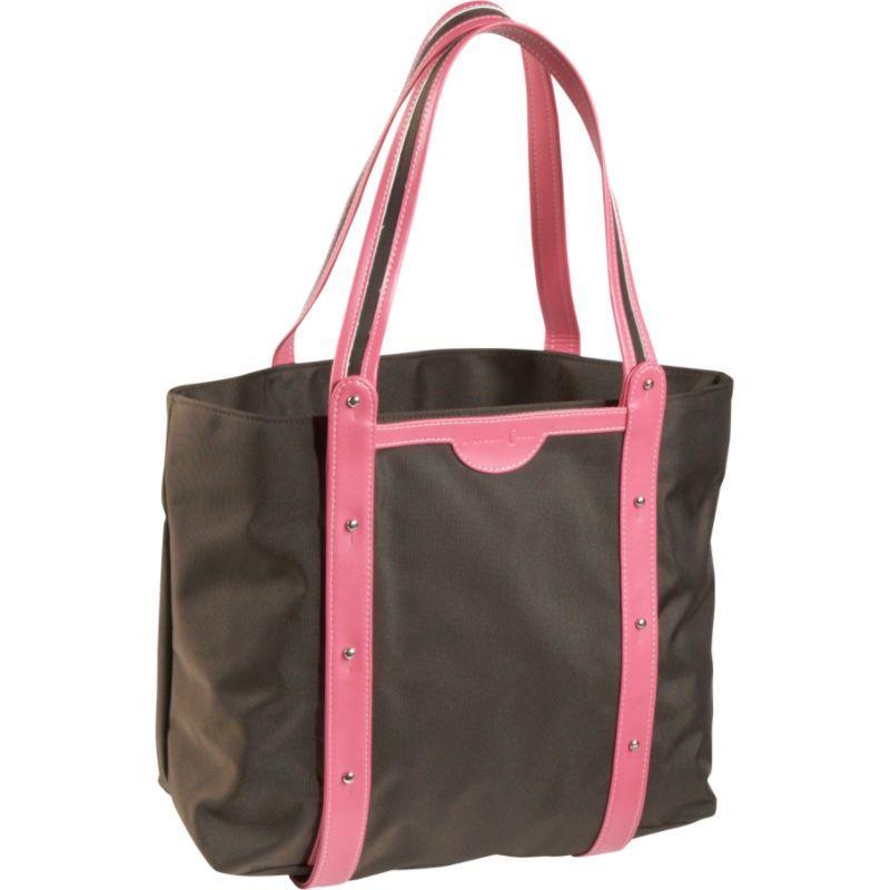 クレセントムーン メンズ ボストンバッグ バッグ Convertible Yoga Tote Brown/Pink