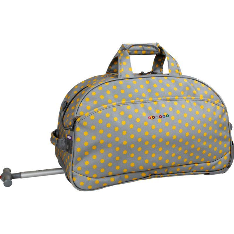 ジャイワールドニューヨーク メンズ スーツケース バッグ Christy 20 Rolling Duffel CANDY BUTTONS