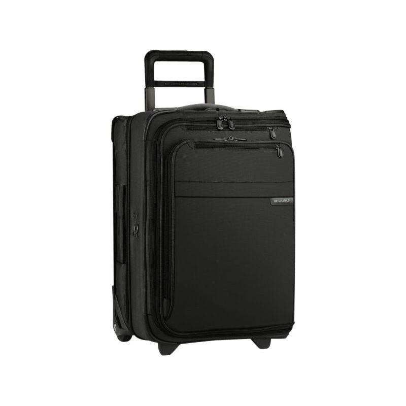 ブリグスアンドライリー メンズ スーツケース バッグ Baseline Domestic Carry-On Upright Garment Bag Black