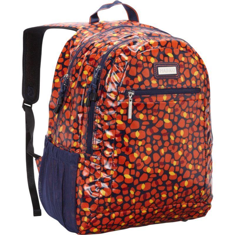ハダキ メンズ バックパック・リュックサック バッグ Coated Cool Backpack Arabesque Pebbles
