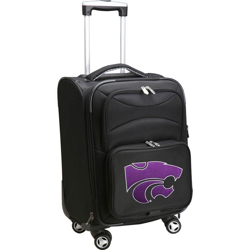 デンコスポーツ メンズ スーツケース バッグ NCAA 20 Domestic Carry-On Spinner Kansas State University Wildcats