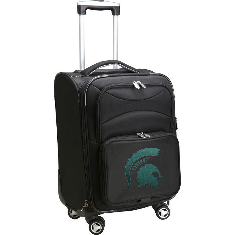 デンコスポーツ メンズ スーツケース バッグ NCAA 20 Domestic Carry-On Spinner Michigan State University Spartans