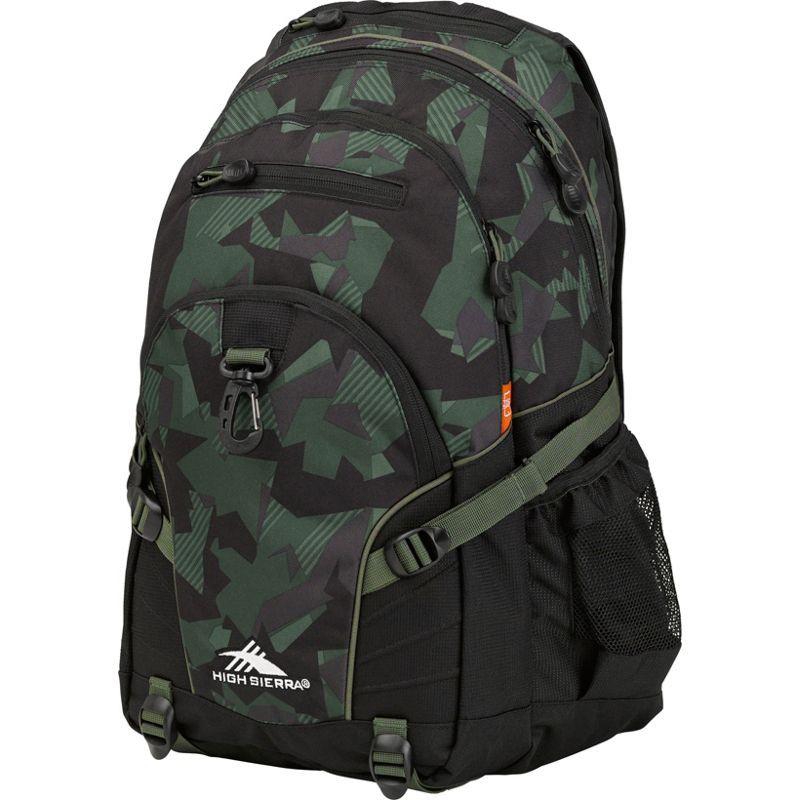 ハイシエラ メンズ バックパック・リュックサック バッグ Loop Backpack Shattered Camo/Black/Olive