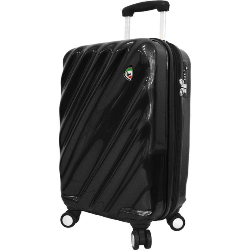 ミアトロ メンズ スーツケース バッグ Onda Fusion Hardside 24 Spinner Black