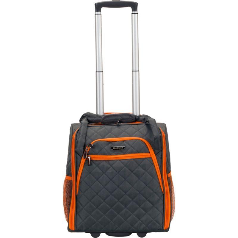ロックランド メンズ スーツケース バッグ Wheeled Underseat Carry-On Charcoal