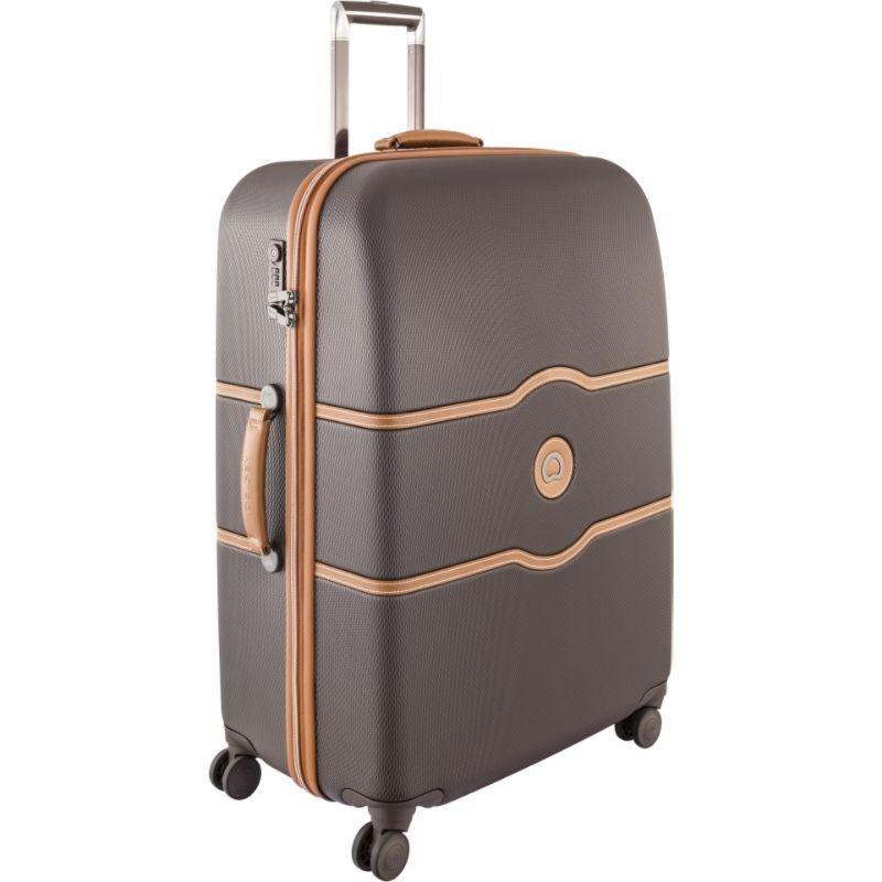 デルシー メンズ スーツケース バッグ Chatelet Hard+ 27 4 Wheel Spinner Brown