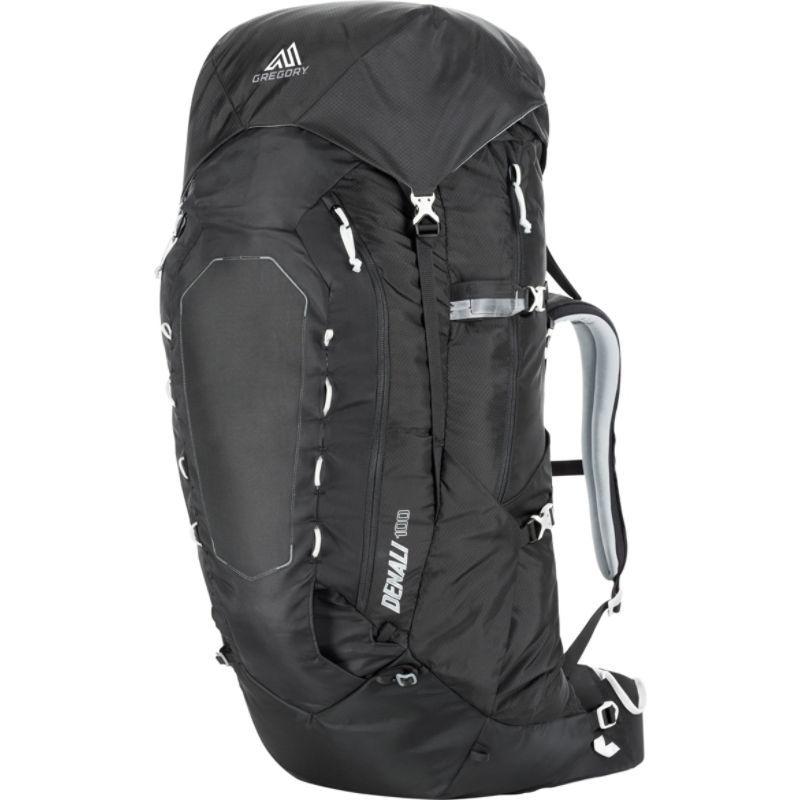 グレゴリー メンズ バックパック・リュックサック バッグ Denali 100 Hiking Backpack Basalt Black - Small