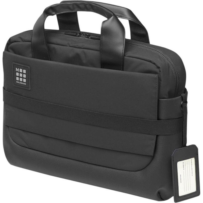 モレスキン メンズ スーツケース バッグ ID Briefcase Black
