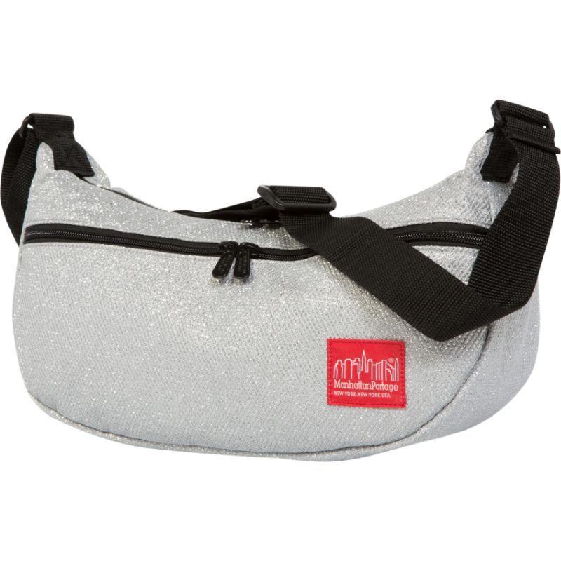 マンハッタンポーテージ メンズ ショルダーバッグ バッグ Midnight Crescent Street Shoulder Bag Silver