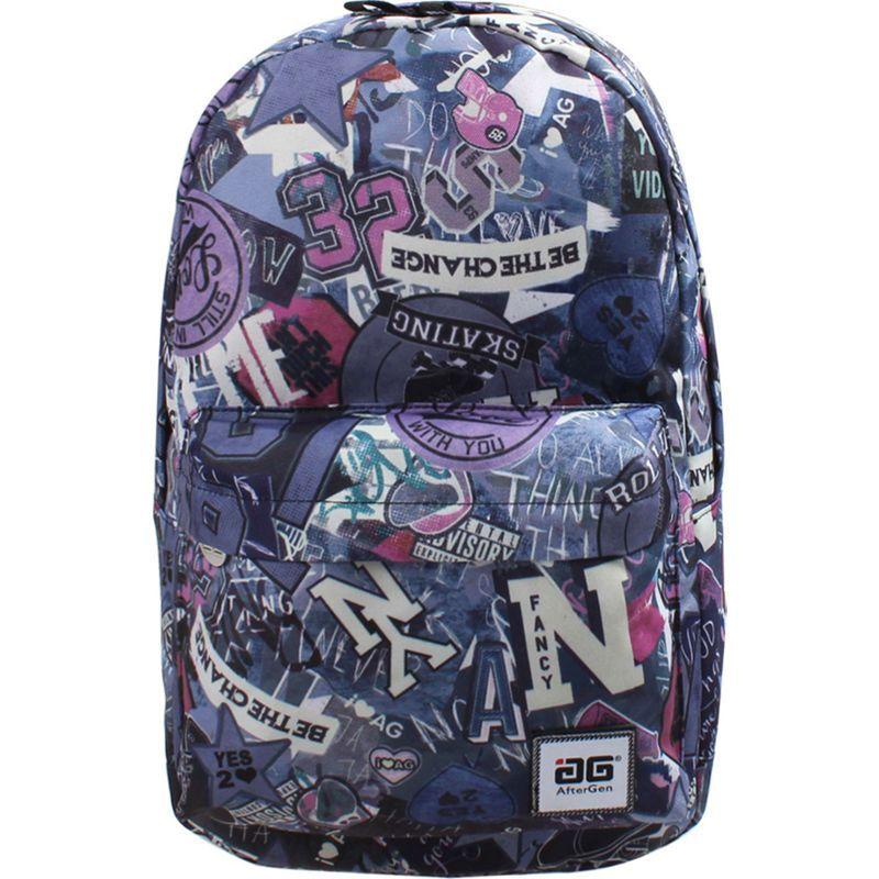 アフターゲン メンズ バックパック・リュックサック バッグ Anti-Bully Backpack Skater Purple