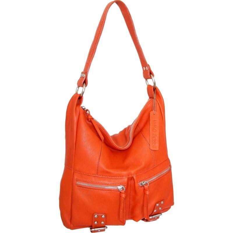 ニノボッシ メンズ ショルダーバッグ バッグ Amelia Shoulder Bag Tangerine