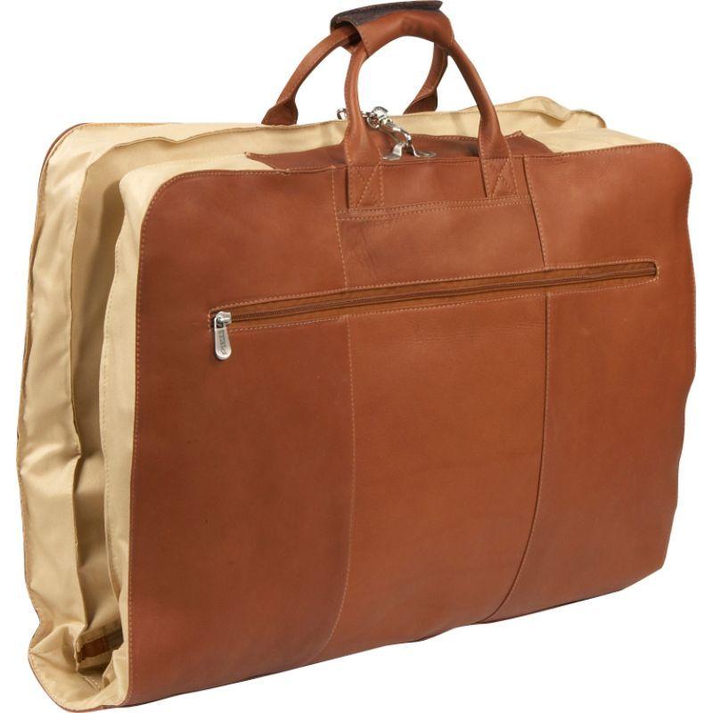 ピエール メンズ スーツケース バッグ 36 Leather Garment Cover Saddle