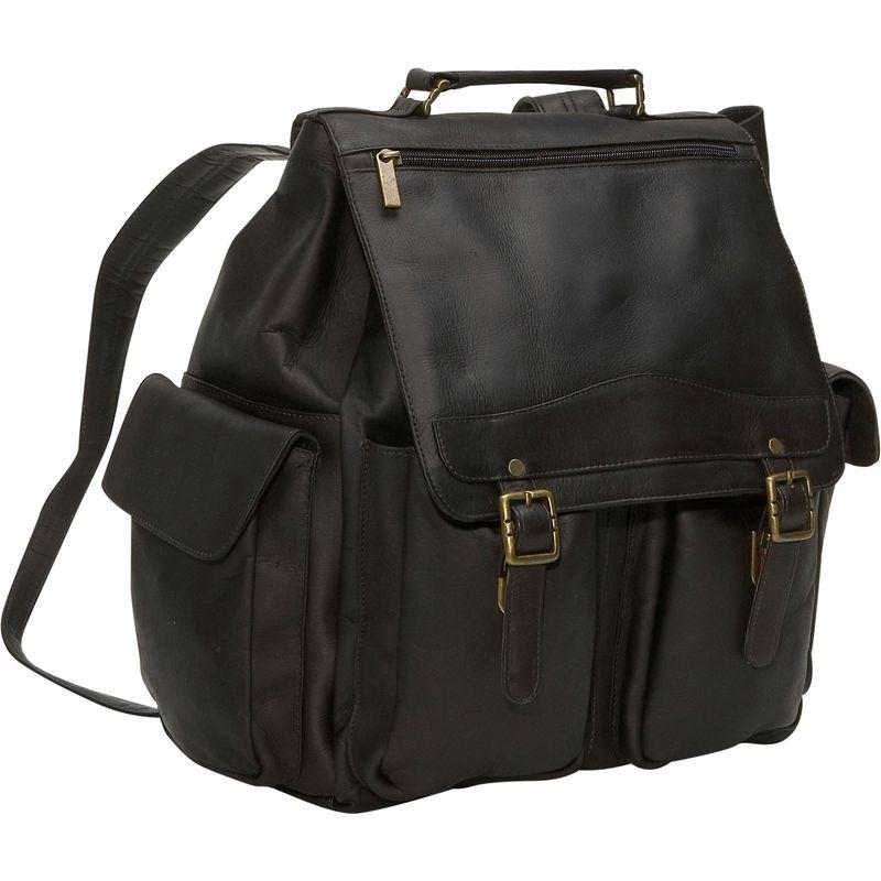 デビッドキング メンズ ハンドバッグ バッグ Jumbo Top Handle Backpack Cafe