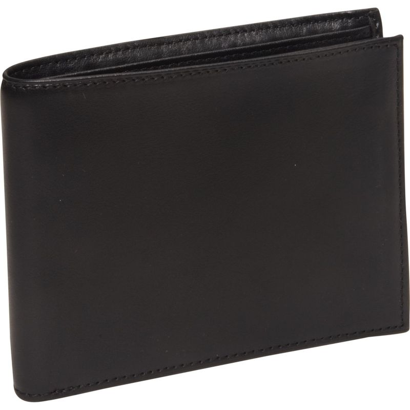 ボスカ メンズ 財布 アクセサリー Nappa Vitello Continental I.D. Wallet Black