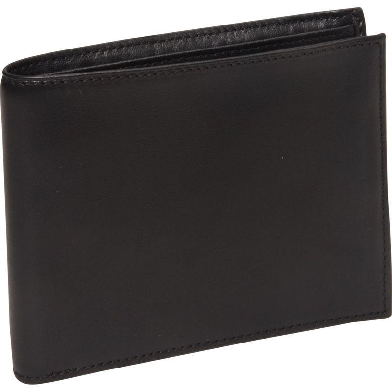 ボスカ メンズ 財布 アクセサリー Nappa Vitello Continental I.D. Wallet Black