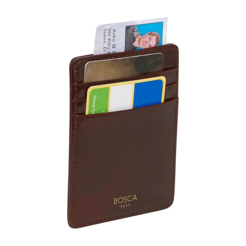 ボスカ メンズ 財布 アクセサリー Old Leather Deluxe Front Pocket Wallet Cognac