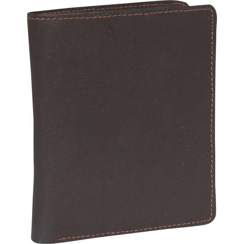 デレクアレクサンダー メンズ 財布 アクセサリー Billfold show card Brown