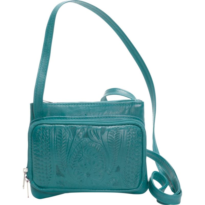 ロピンウェスト メンズ ボディバッグ・ウエストポーチ バッグ Mini Purse Turquoise
