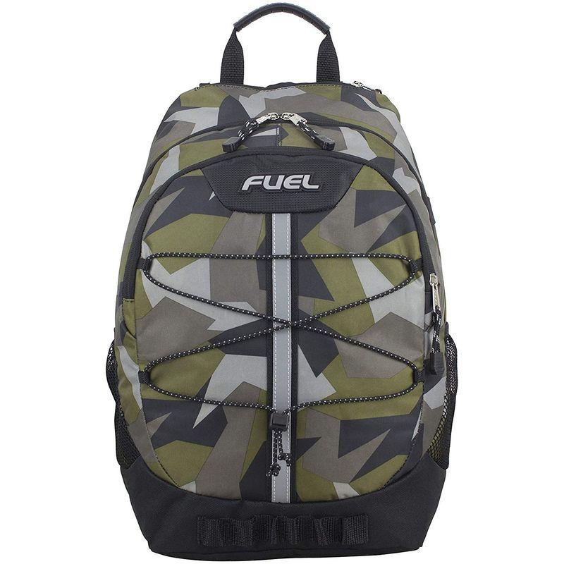 フュエル メンズ バックパック・リュックサック バッグ Terra Sport Spacious School Backpack Army Green/JS Shapes Print