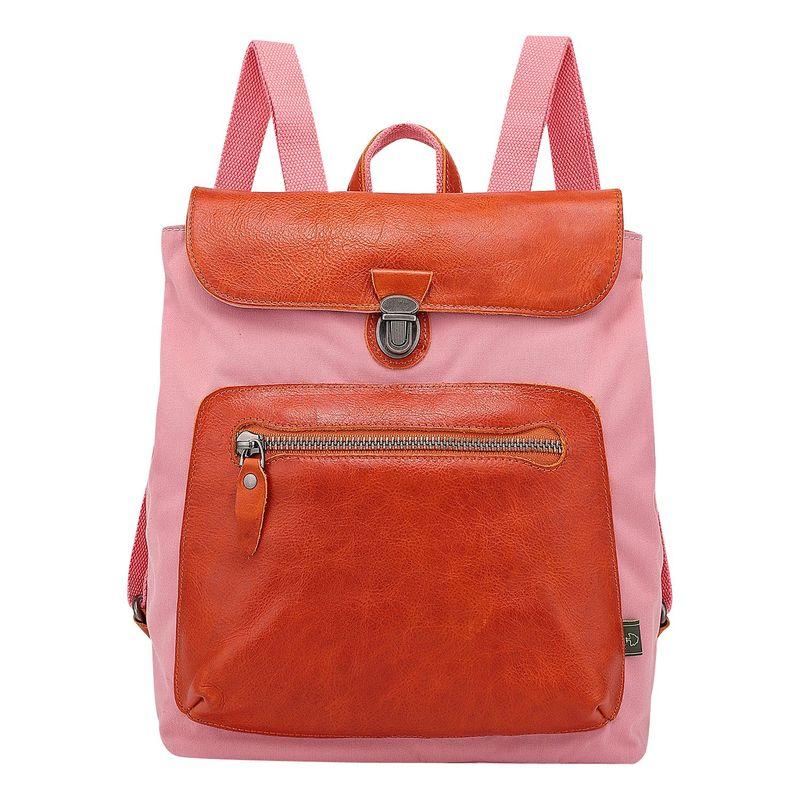 ティエスディー メンズ ハンドバッグ バッグ Valley Trail Coated Canvas Backpack Pink