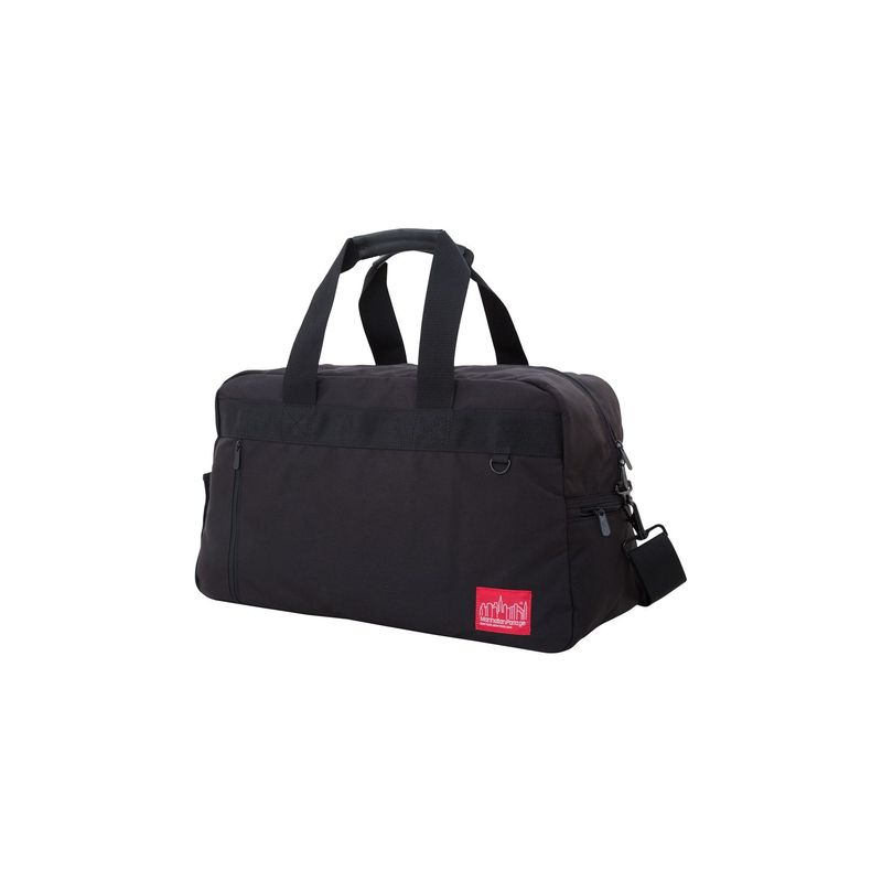 マンハッタンポーテージ メンズ スーツケース バッグ Duffel Bag Featuring CORDURAR Brand Fabric Black