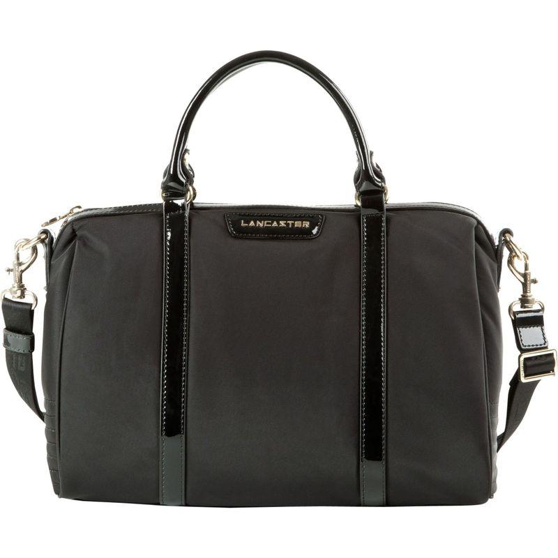 ランキャスターパリ メンズ ハンドバッグ バッグ Nylon & Patent Barrel Bag Black